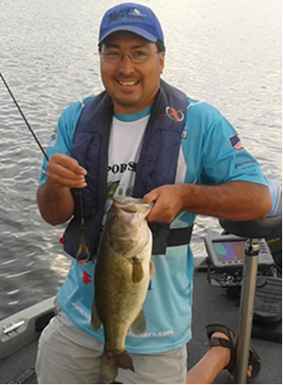 Mickey Goetting 4lb+ largemouth