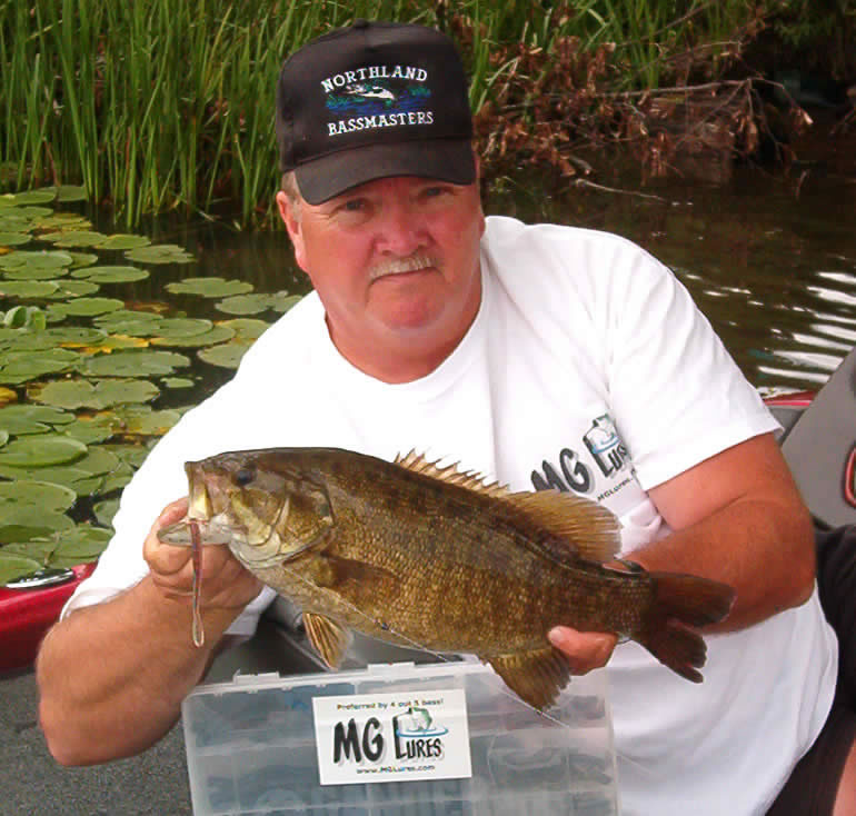 Dan Griefe 4lb smallmouth