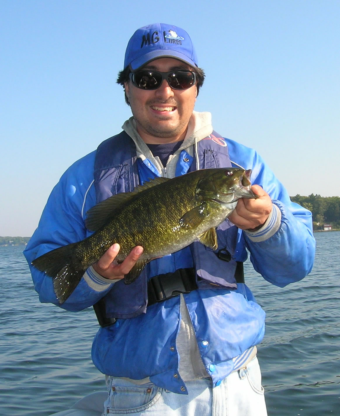 Mickey Goetting Pokegama 4lb smallmouth